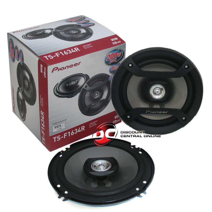 "NEW LANZAR MX62 Max Series 6.5/"" 6-1//2/"" 180 Watts 2 Way Coaxial Car Speakers Pair"
