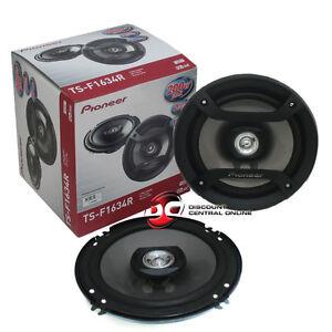 """PIONEER 6-1/2"""" 6.5 INCH 2 WAY CAR AUDIO SPEAKERS 200 WATTS PEAK PAIR"""