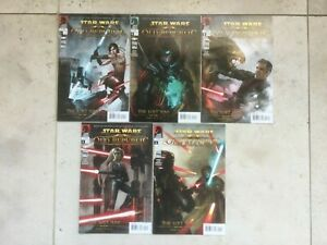 Star Wars Dark Horse The Old Republic The Lost Suns Full set #1 #2 #3 #4 #5 2011