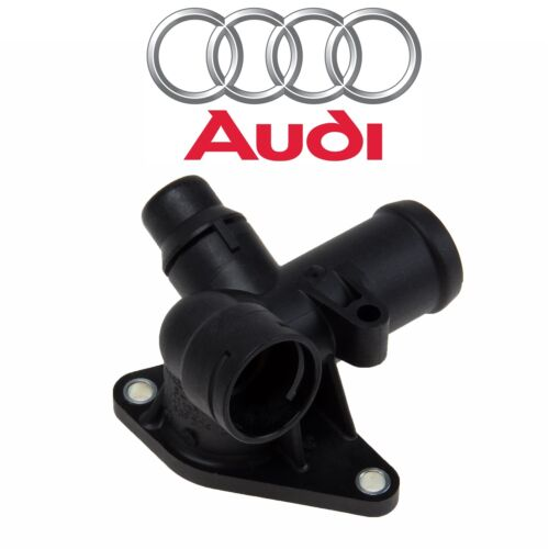 For Audi A4 Quattro Rear Of Cylinder Head Engine Coolant Water Hose Flange