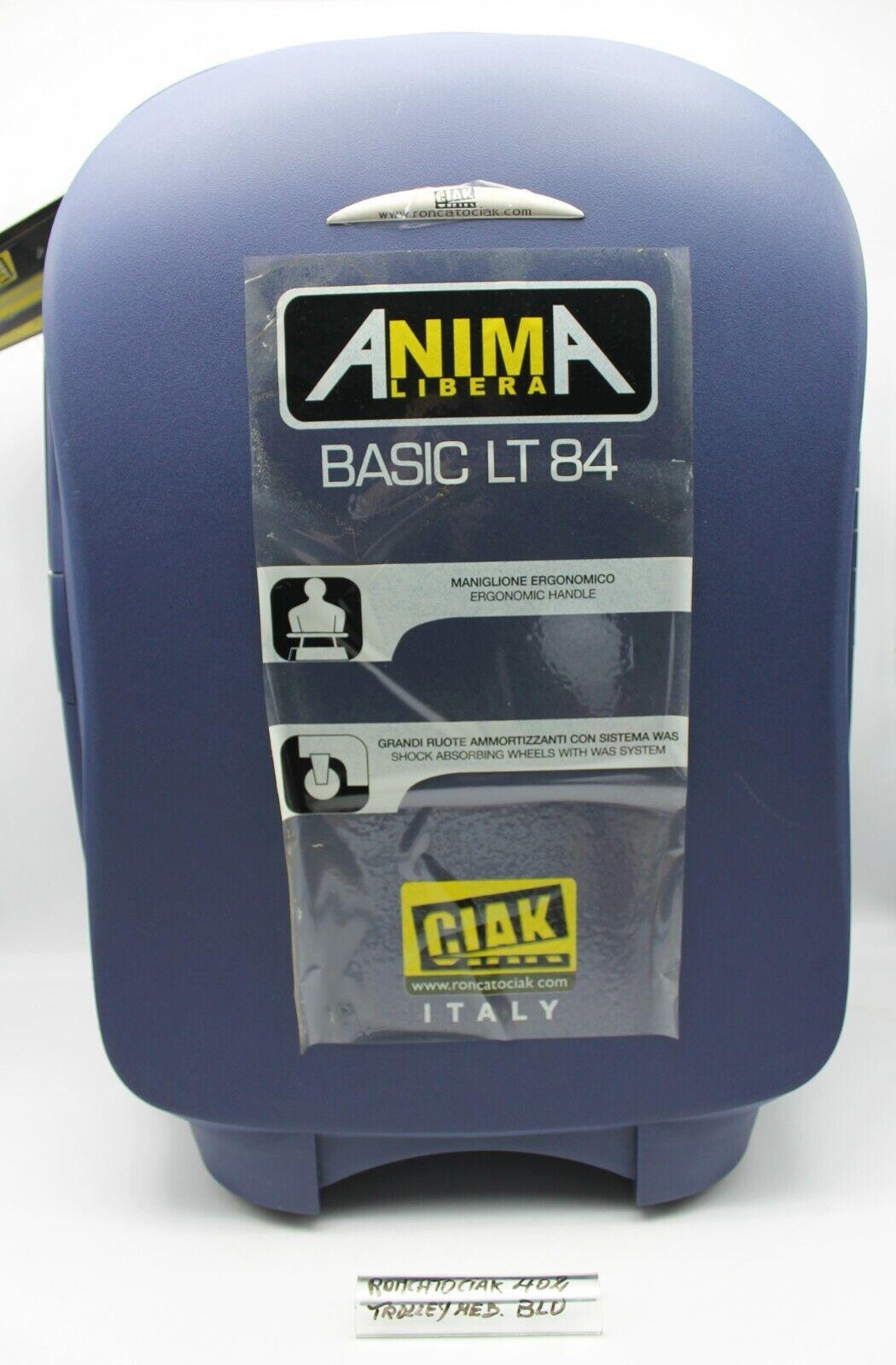 Trolley Medio 84 LT ABS Termoformato Blu Cod.402 Roncato Ciak