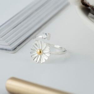 Damen Wrap Ring Zirkonia echt Sterling Silber 925 offen