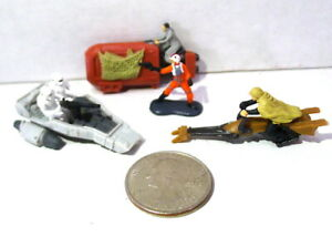 Star Wars LFL Mini Miniature Action Fleet Ships and More Mixed Lot Of 4