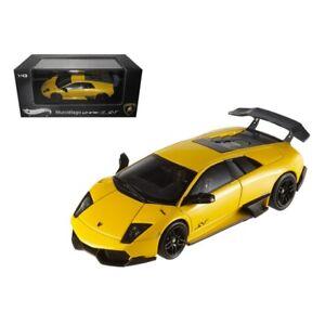 Hot Wheels T6934 Lamborghini Murcielago Lp 670 4 Sv Yellow Elite