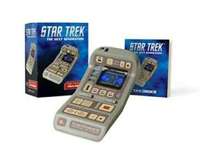 Star-Trek-Light-and-Sound-Tricorder-Miniature-Editions-by-Carter-Chip-NEW-B