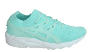 classic style promo code amazon Asics Gel-Kayano Trainers Knit Womens Shoes Lace Up Textile Mint ...