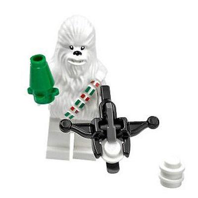 LEGO Star Wars minifigure white Chewbacca New Version 75146