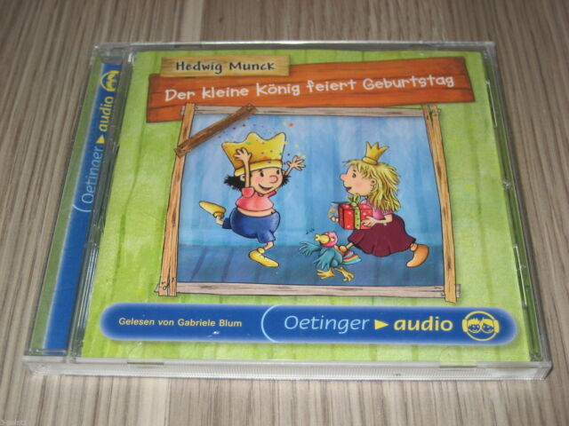 CD Der kleine König feiert Geburtstag Lesung Oetinger audio