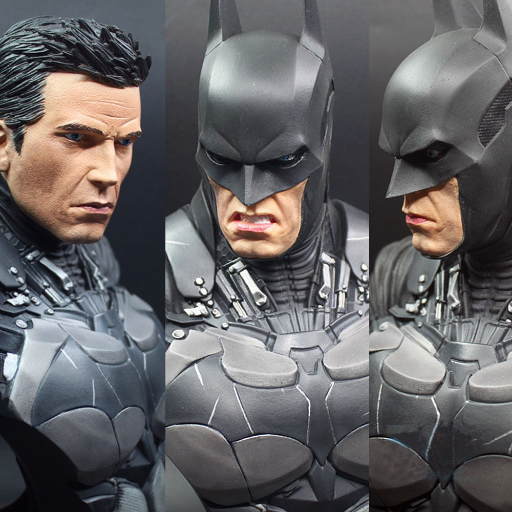 Batman 1/3 Scale Action Arkham Dark Knight Dawn of Justice Bust Statue Figure
