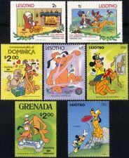 Excelente Disney Pluto 7v selección/Stocking Relleno perros Dibujos Animados/animación b1477c