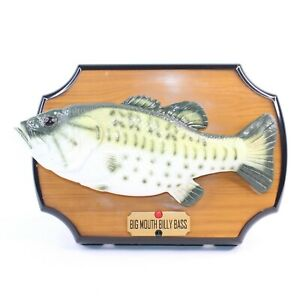Vintage-Big-Mouth-Billy-Bass-Singing-Fish-Take-Me-To-The-River-Don-039-t-Worry-1999