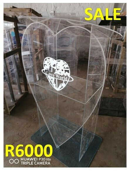 LoveWorld Perspex Church Podium Opening Sale Now On
