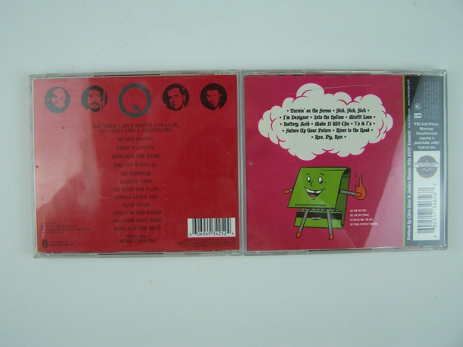Queens of the Stone Age 2xCD Lot