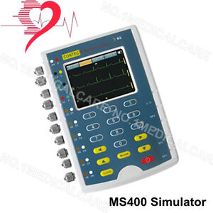 Details about USA Contec MS400 Multi-parameter Patient Simulator,ECG  Simulator,touch screen