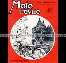 MOTO REVUE N°1254 VILLIERS 100 ISOFLEX NSU 125 SUPER-FOX BMW R 68 BSA 500 1955