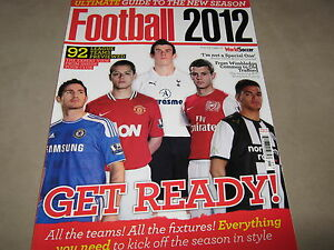 9c572b84231 Details about World Soccer FOOTBALL 2012 ULTIMATE GUIDE 92 Top England  Teams Stats Rosters