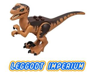 LEGO-Minifigure-Velociraptor-Jurassic-World-Park-dinosaur-10-FREE-POST