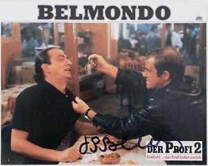 Jean-Paul-Belmondo-original-Autogramm-auf-Aushangfoto-Der-Profi-2