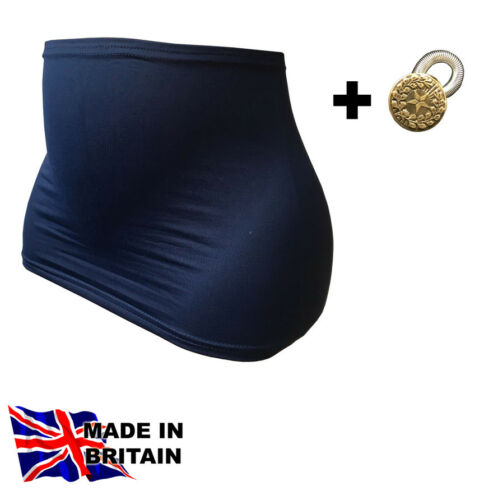 PREGNANCY MATERNITY BELLY BAND ONE EXTENDER BUTTON Made in the UK