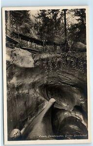 Lucerne-Switzerland-Luzern-Gletschergarten-Grosser-Vintage-Photo-Postcard-A91