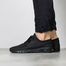 NIKE STEFAN JANOSKI MAX Trainers Casual SB Air - UK 10.5 (EUR 45.5) All Black
