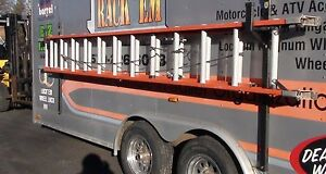 Pack Em Enclosed Trailer Exterior Side Wall Ladder Rack