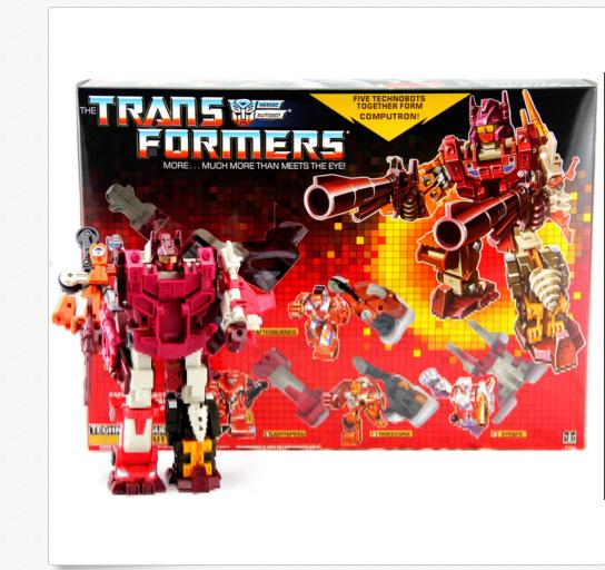Transformers G1 COMPUTRON riemettere azioni Nuovo di Zecca REGALO cifra