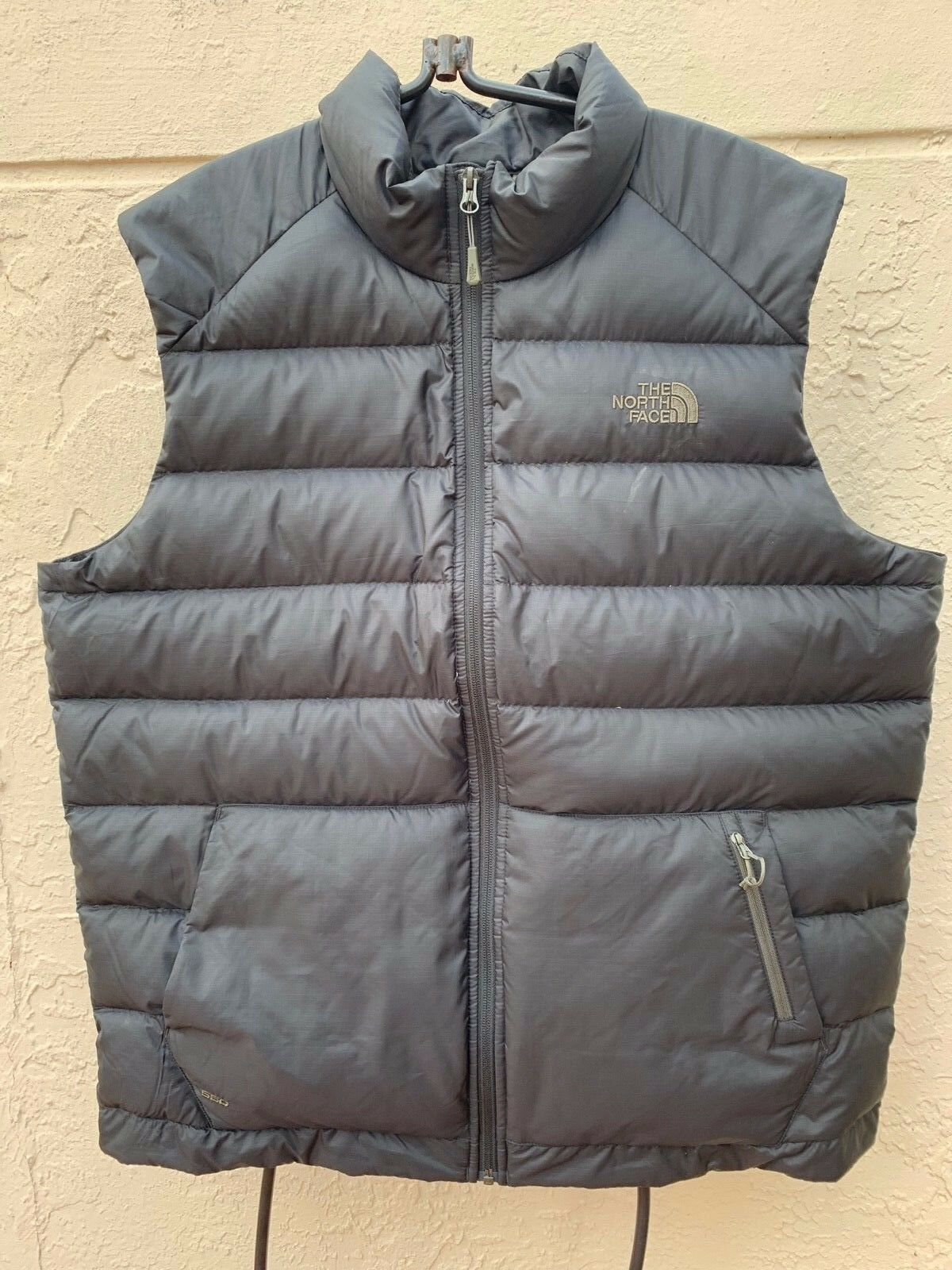THE NORTH FACE MENS PUFFER DOWN FILL VEST SZ XL