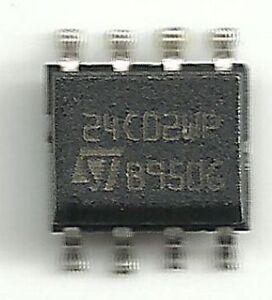 10pcs ORIGINAL /& Brand New 24C04WP ST 24C04WP SOP-8