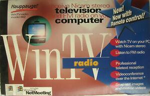 HAUPPAUGE WinTV 662 Bt878 Telecomando Scheda acquisizione Audio-Video Usato RARO