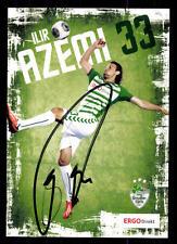 Ilir Azemi Autogrammkarte SpVgg Greuther Fürth 2013-14 Original+A 127986