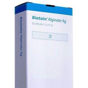 Biatain-Alginate-Ag-von-Coloplast-3St-Tamponade-Kompressen-mit-Silber-3x44cm