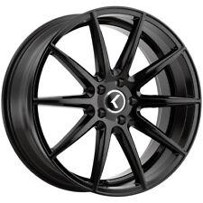 4 Kraze Kr194 Cosmos 17x8 5x45 38mm Gloss Black Wheels Rims 17 Inch Fits 2011 Toyota Camry