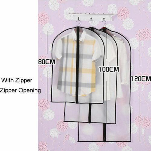 Dress Clothes Cover Bag Coat Garment Suit Dustproof Clothing Storage Protector