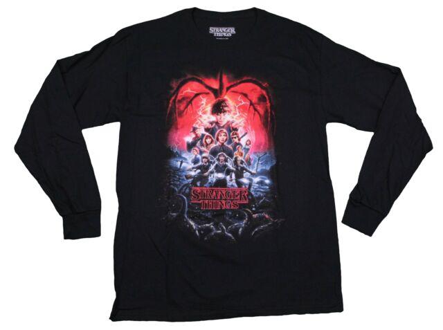 Inspired By Stranger Things Reality Glitch Demogorgon Men/'s T-shirt