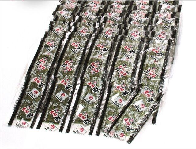 280 Sheets Korean Roasted Seaweed  Seasoned Laver Snacks Sake Tidbits Sushi