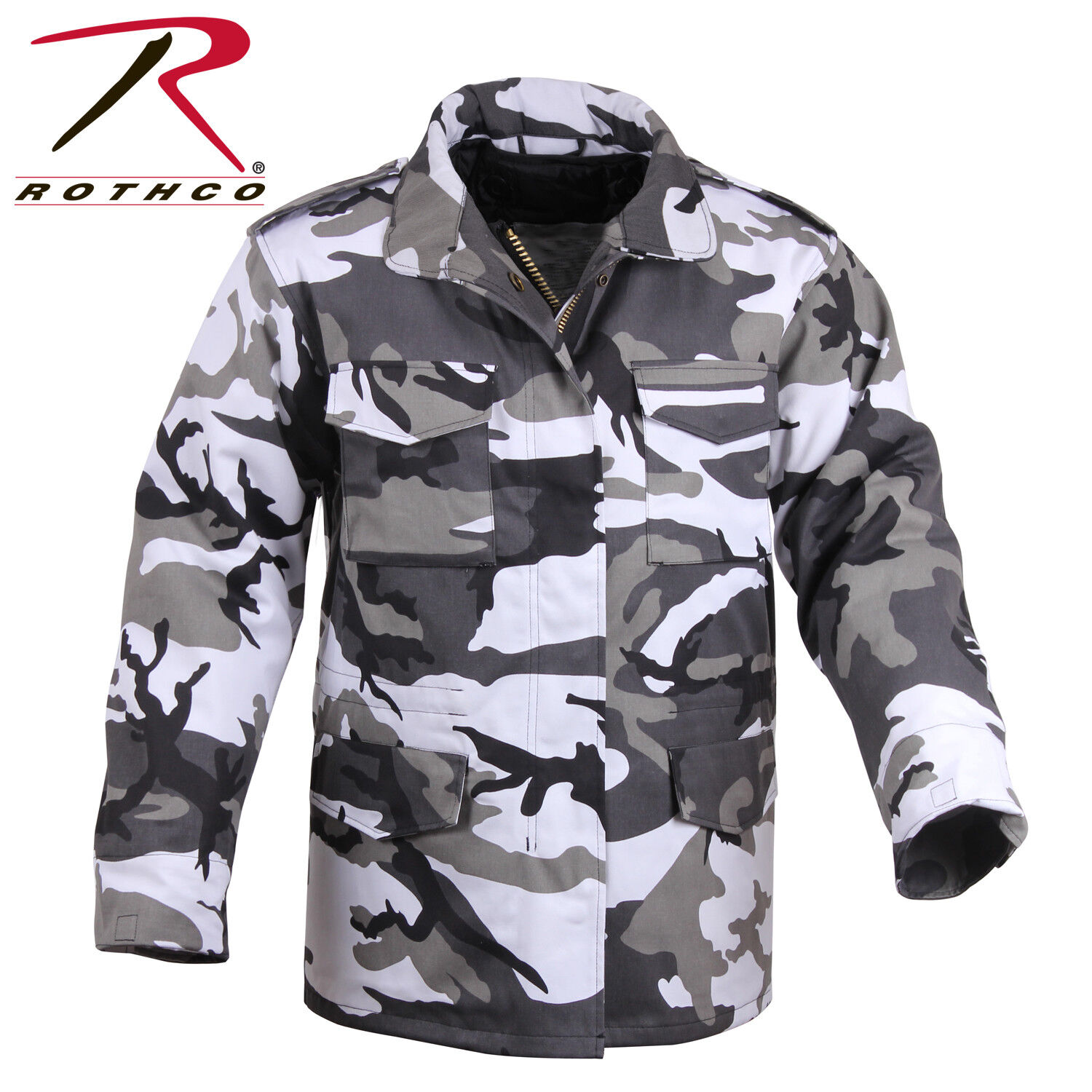 Rothco M65 Field Coat with removeable quilted liner CITY CAMO