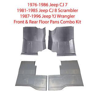 1976 1996 Jeep Cj 7 Cj 8 Scrambler Amp Yj Wrangler Front