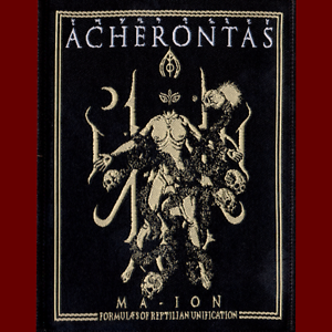 ACHERONTAS-Ma-IoN-Official-High-Quality-Sew-on-PATCH-Greek-Black-Metal-NEW