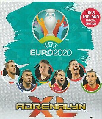 Panini Adrenalyn XL Euro 2020 Completo Equipo Conjunto de 18 Tarjetas de Irlanda del Norte como nuevo