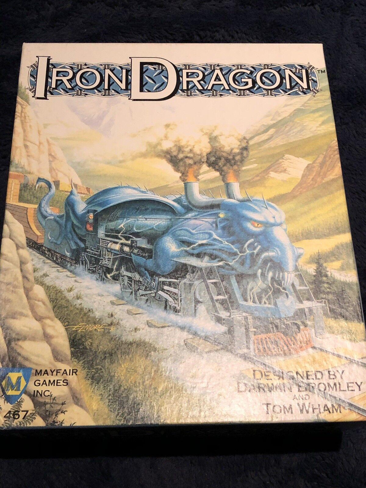 Rare  Iron Dragon Fantasy Board Game Mayfair 1st Edition