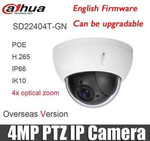 Details about Dahua SD22404T-GN 4MP IVS PoE 4x PTZ Face Detection Network  Dome IP camera US
