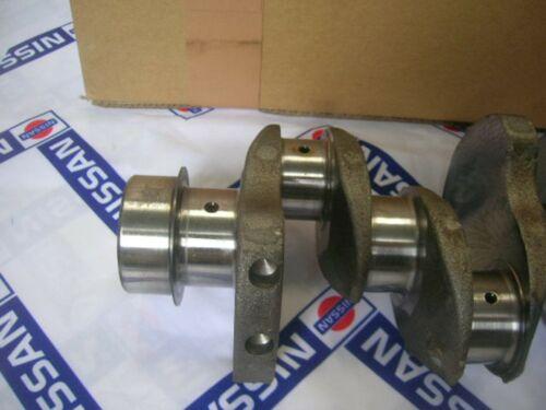 Fits NISSAN Sunny Vanette B310 C120 C22 DATSUN A15 Crankshaft 1500cc Genuine