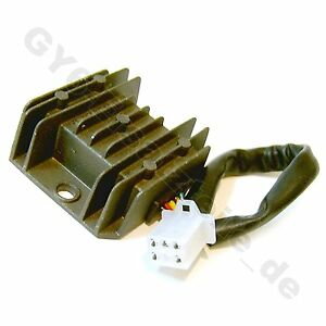 VOLTAGE REGULATOR/ RECTIFIER 12V 5PIN 50-125cc GY6 4STROKE SCOOTER JMSTAR ZNEN