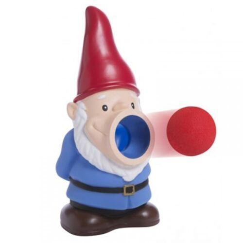 Gnome Popper Mousse Ball Shooter avec 6 mousse boules-pousses jusqu/'à 20 ft environ 6.10 m