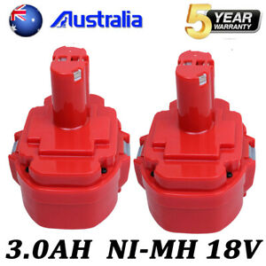 2-X-3-0AH-For-Makita-18V-1822-NI-MH-Battery-1823-1833-1834-1835-1835F-PA18-4334D