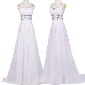 Women Long Prom Party Bridesmaid Ball Gown Formal Evening Cocktail Pageant Dress