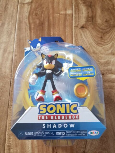 Sonic The Hedgehog Shadow Figure 2020 Jakks Pacific Go Sega Rare Articulated For Sale Online Ebay