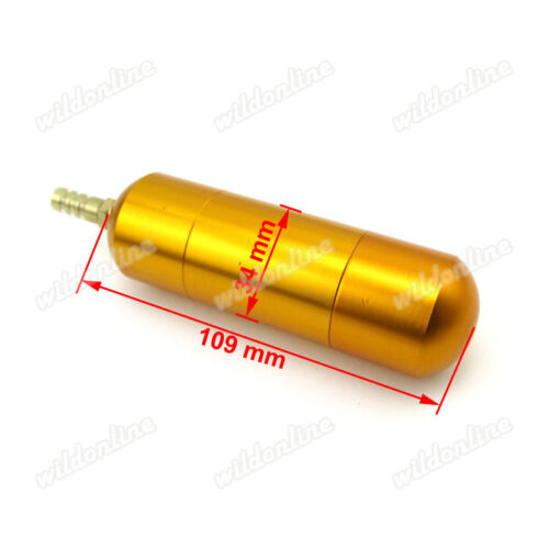 Racing Boost Power Bottle For 50cc 60cc 80cc Motorized Bicycle Push Bike Gold