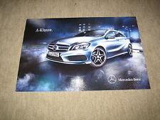 Mercedes A-Klasse W176 Prospekt Brochure von 6/2012, 20 Seiten